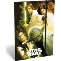 Star Wars gumis mappa A5 - Klasszikus karakterek