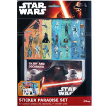 Star Wars matrica szett - 70 darabos készlet