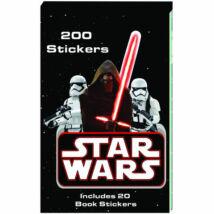 Star Wars matricás szett 200 db matricával - Több változatban