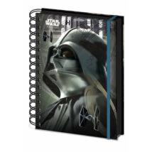 Darth Vader spirálos jegyzetfüzet A5