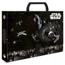 Star Wars - Halálcsillag irattartó mappa fogóval A4-es méretben
