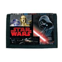 Star Wars tépőzáras pénztárca / Darth Vader, R2-D2, C-3PO