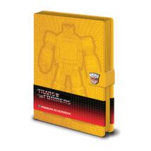 Transformers ŰrDongó prémium fegyzetfüzet A5