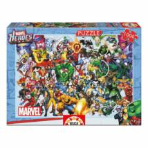 Marvel Hősök Puzzle - 1000 darabos