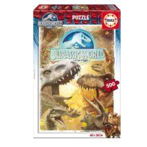 Jurassic World puzzle - 500 darabos