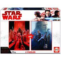 Star Wars: Az utolsó Jedik puzzle - 2 X 500 darabos