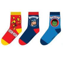 Bosszúállók gyerek zokni szett (31-34 méret)