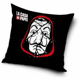 A nagy pénzrablás párnahuzat - Maszk és logó