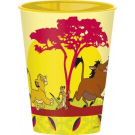 Az Oroszlánkirály műanyag pohár