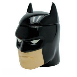 Batman 3D fej bögre fedővel