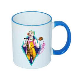 Harley Quinn bögre blue - Ragadozó madarak