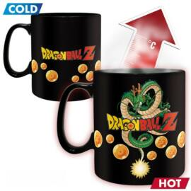Dragon Ball Z - Vegeta hőre változó nagyméretű bögre