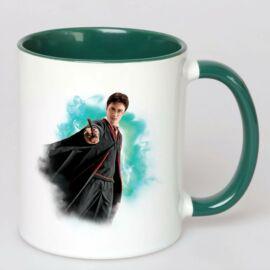 Harry Potter bögre - Magic wand Full Green