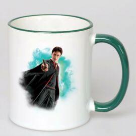 Harry Potter bögre - Magic wand Green