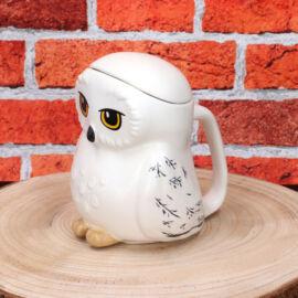 Harry Potter Hedwig 3D bögre fedővel