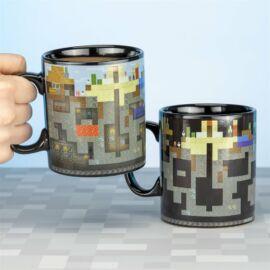 Minecraft hőre változó bögre - 550 ml-es