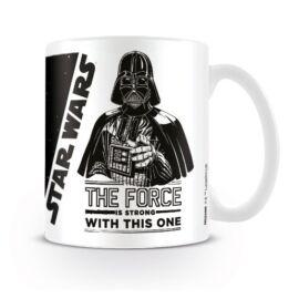 Star Wars bögre - Darth Vader: The force is strong