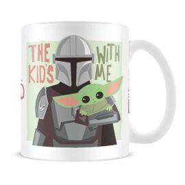 Star Wars: The Mandalorian bögre - Baby Yoda és a Fejvadász