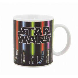 Star Wars hőre változó bögre - Fénykardok