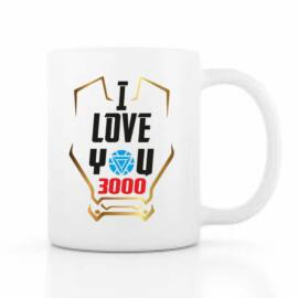 I Love You 3000 bögre - Iron