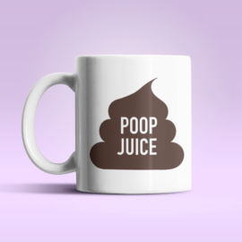Poop Juice bögre