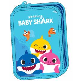Baby Shark tolltartó töltött  - 2 emeletes