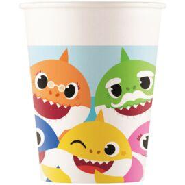 Baby Shark papír pohár 20 db-os szett