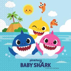 Baby Shark szalvéta 20 db-os