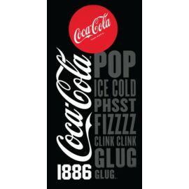 Coca-Cola törölköző, fürdőlepedő