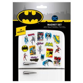 Batman hűtőmágnes szett - Retro