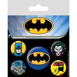 Batman kitűző szett