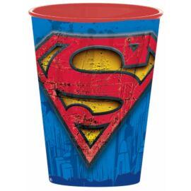 Superman műanyag pohár