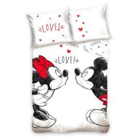 Minnie és Mickey egér ágyneműhuzat garnitúra