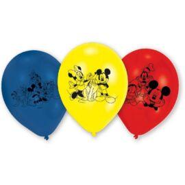 Disney Mickey egér léggömb, lufi 6 darabos csomag - Mickey és barátai