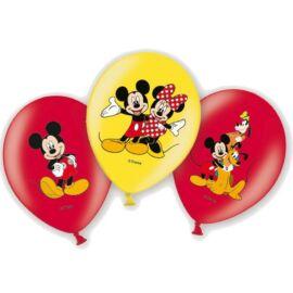 Disney Mickey egér léggömb, lufi 6 darabos csomag