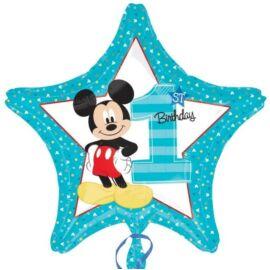 Mickey egér fólia lufi 43 cm-es