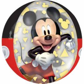 Mickey egér fólia lufi 38 cm-es gömb