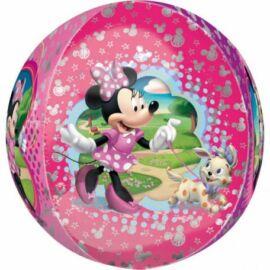 Minnie egér gömb fólia lufi 45 cm-es