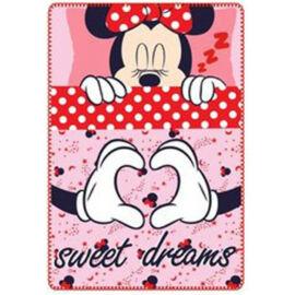 Disney Minnie egér polár takaró, ágytakaró