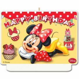 Disney Minnie Egér tortagyertya, számgyertya