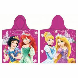 Disney Hercegnők poncsó törölköző