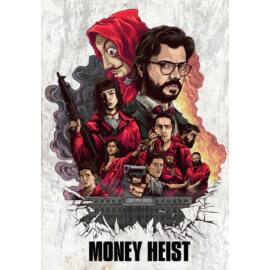 A nagy pénzrablás falmatrica - Team ART