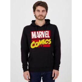Marvel Comics Logo kapucnis pulóver
