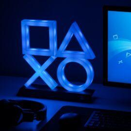 PlayStation PS5 ikonok hangulatvilágítás XL