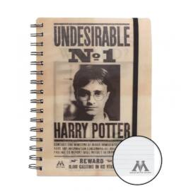 Harry Potter jegfyzetfüzet - Sirius Black és Harry Potter 3D hatású jegyzetfüzet A5