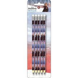 Jégvarázs HB grafit ceruza radír véggel - 5 darabos szett