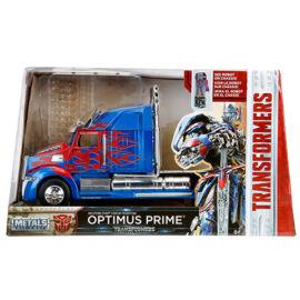 Transformers Optimus fővezér fém modell autó 1/24