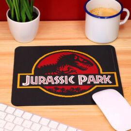 Jurassic Park pixeles logó egérpad