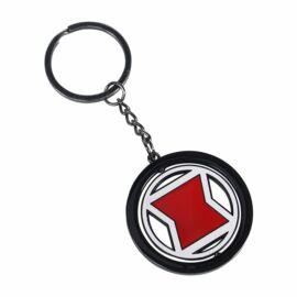 Marvel Fekete Özvegy fém kulcstartó