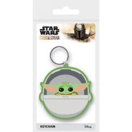Star Wars The Mandalorian kulcstartó - Baby Yoda The Child